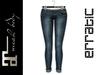 erratic / swift - jeans / spruce (maitreya)