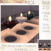 ~ASW~ The Christmas Cocktail Candles
