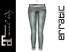 erratic / swift - jeans / fern (maitreya)