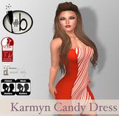 #b Karmyn Candy Cane Stripe Strapless Mini Dress - Maitreya , Slink Physique , Mesh , PROMO, Christmas