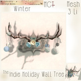 ~ASW~ The Indie Holiday Wall Tree ~Winter