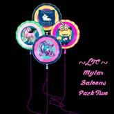 ~LTC~ Mylar Balloons 2 Box