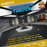 Interocitor TARDIS - Hands of Omega (HoO) Console