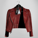 Emery Tete Leather Jacket Over Shoulders Tanager