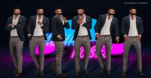 +Mouni Poses+ Fashion single poses pack male (wear)