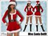 [Phunk] Miss Santa Outfit