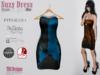 Suzy dress puzzle blue