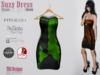 Suzy dress puzzle green