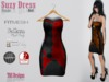 Suzy Dress Puzzle Red