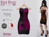 Suzy Dress Puzzle Wine