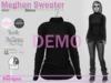 Meghan sweater knit demo