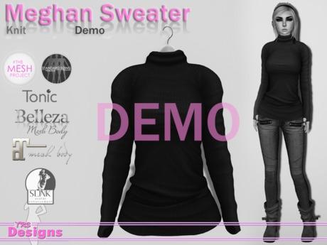 Meghan Demo Knit