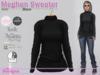 Meghan Sweater Knit Black