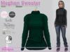 Meghan Sweater Knit Green