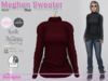 Meghan Sweater Knit Red