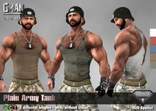 [GMan] TK - Plain Army Tank for Aesthetic