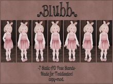 {Blubb} Static AO Pose Stands