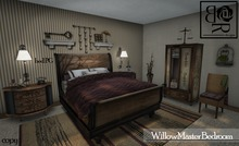 SPECIAL MP PRICE Willow Master Bedroom SET