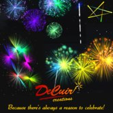 ON SALE!  DeCuir Creations UNLIMITED USE Fireworks System!  Best in Second Life!