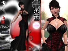 Stressless - Enchanted dress Red Maitreya/Belleza/Slink/TMP/Tonic/Fitmesh/eBody/Classic