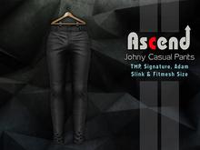 //Ascend// Johny Casual Pants - Black