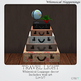 [Home Goods] - Travel Light (Luggage Decor)