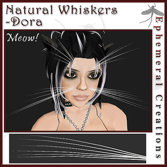 Ephemeral Neko - Natural Whiskers - Dora
