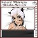 Ephemeral Neko - Natural Whiskers - Akasha Medium