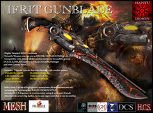 Ifrit GunBlade - [Clearance Sale] up to 50% off - Hantu Demon Creations