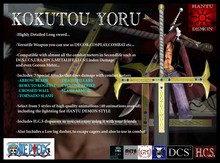 Kokutou Yoru - [Clearance Sale] up to 50% off - Hantu Demon Creations