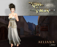 Gods of Valor - Roman - Rome - Aeliana - Snow