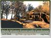 Mesh Winter Forest + Cavehouse 153 Prim=55x55m copy-mody