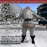 Santa Avatar white, Snuggles v16