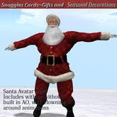 Santa Avatar Red, Snuggles v16