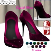 """""""Crystals"""" Shoes Slink Mid Feet 11 colors-Fashion Dream"""