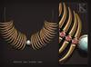 (Kunglers) Shena necklace - golden