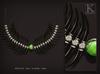 (Kunglers) Shena necklace - emerald