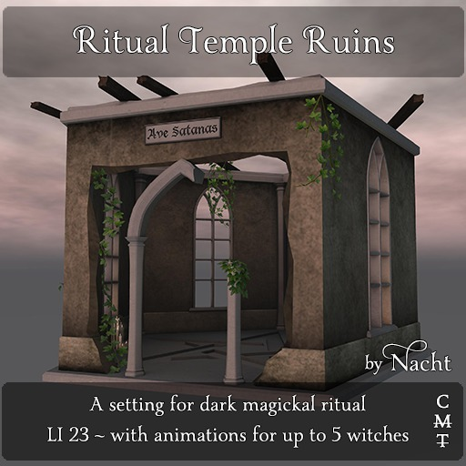 *~ by Nacht ~ Ritual Temple