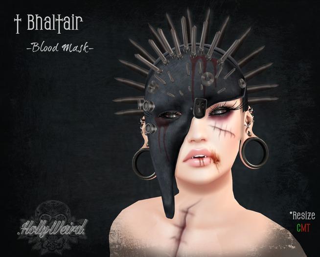 .HW. Bhaltair - Blood Mask (wear)