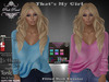 [PPD] Thats My Girl Sweater - Neon Pastels
