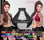 [Syn] Alice Top (Texture HUD, Maitreya, TMP, Freya, Isis, Physique & Hourglass, materials enabled)