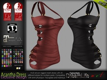 Acantha Female Dress - Maitreya Lara, Slink Physique Hourglass - DreamLife - FashionNatic