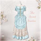Belle Epoque { The Secret Garden } Blue Dress (Box)