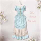 Belle Epoque { The Secret Garden } Blue Dress
