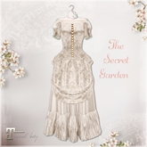 Belle Epoque { The Secret Garden } Ivory Dress (Box)