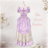 Belle Epoque { The Secret Garden } Lavender Dress