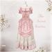 Belle Epoque { The Secret Garden } Pink Dress