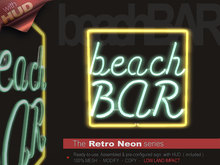The Retro Neon - BEACH BAR