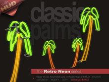 The Retro Neon - CLASSIC PALMS