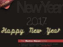The Retro Neon - HAPPY NEW YEAR